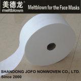 tessuto non tessuto di 23GSM Bfe98% Meltblown per le maschere di protezione