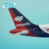 1/100 Stuk speelgoed van de Hars van het Vliegtuig van de Lucht van Bassaka van de Schaal A320 Model