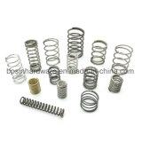 Molla di compressione su ordinazione del metallo di alta qualità