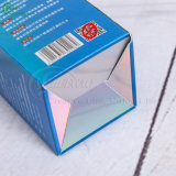 Rectángulos de empaquetado de encargo del papel de imprenta para los productos del cuidado médico de la medicina/del cosmético/del regalo (KG-PX053)