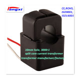10mm Agujero 3000: 1 0.5class núcleo dividido transformador de corriente