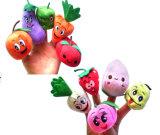 Супер милый миниый плюш фрукт и овощ ягнится марионетки перста
