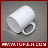 Impresión personalizada Blank Coated 11oz Porcelain White Cups