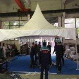 Tent 6m van de Pagode Gazebo van de wind Bestand Zwart-witte Openlucht