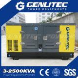 генератор Kubota одиночной фазы 12kVA молчком тепловозный (GPK12S-1P)