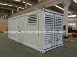 generatore di 1000kVA Cummins di tipo messo in recipienti