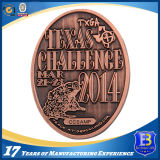Подгонянная античная медная монетка сувенира 3D (Ele-C137)