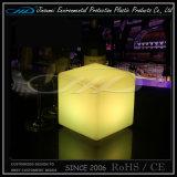 Restaurante Cube Muebles LED con colores que cambian
