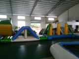 Parco di divertimenti gonfiabile gigante del Aqua dei giochi dell'acqua di grande divertimento