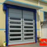 Европейская промышленная штабелируя дверь с аттестацией CE