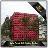 CNC сделал экстерьер моделируя алюминиевые панели для самомоднейшего здания