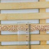 Cordón de nylon de la suposición del recorte del bordado del poliester del cordón de la venta al por mayor los 2cm de la fábrica del bordado común de la anchura para el accesorio y los &Curtains caseros de la tela de materia textil (BS1037) de la ropa