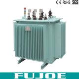 S11電圧電気変圧器の製造業者の低い損失の変圧器100kVA