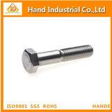 Monel K500 2.4375 N05500 DIN931 halbe Gewinde-Hexagon-Schraube