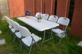 6FTの規則的な折りたたみ式テーブルRF183のプラスチック野菜畑の家具