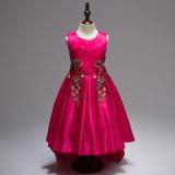 5 لون حارّ رخيصة بنات ثوب أميرة [شلدرن] [ور] [برتي] [فيل] بنت عرس زهرة [ببي جرل] ثوب [فلوور جرل] ثوب عيد ميلاد