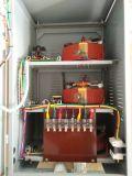 Stabilisateur complètement automatique de grande précision triphasé de tension CA de série de Tns