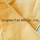 Tela orgánica de la pana del algodón de 6 País de Gales el 100% (QF16-2676)