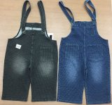 Banda nera &#160 dello Spandex del cotone; Tessuto di lavoro a maglia dei jeans