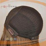 Parrucca superiore di seta riccia delle donne di colore del Brown