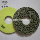 """Het droge Oppoetsende Stootkussen van de Vloer van de Diamant voor Beton (5 """" /125mm)"""
