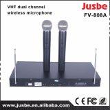 Conférence sans fil VHF scène de chant système sonore microphone