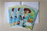 Preiswertes Notizbuch-Ausgabe-Notizbuch-Übungs-Buch der Schule-A4 A5 kundenspezifisches französisches