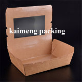 Rectángulo de almacenaje modificado para requisitos particulares del papel del conjunto del alimento para el diseño del envasado de alimentos (rectángulo de almacenaje de papel)