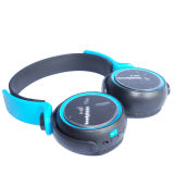 Foldable Bluetooth Headphone Support TF Card e Função FM