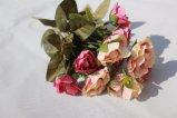 가정 결혼식 훈장을%s 고품질 인공 꽃 가짜 로즈