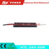 24V-30W 일정한 전압 알루미늄 쉘 방수 LED 전력 공급