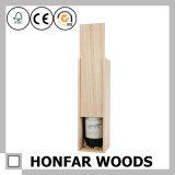Hochwertiger festes Holz-Wein-Kasten-Ablagekasten-Geschenk-Kasten