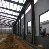 Costruzione incorniciata della struttura d'acciaio, costruzione prefabbricata del fascio dell'acciaio per costruzioni edili con l'illustrazione