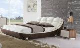 Новая кровать неподдельной кожи самомоднейшей конструкции (HC170) для спальни