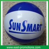 Bola de playa inflable del color de la mezcla del PVC o de TPU