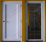 Porte personnalisée UPVC Single Casement Door / Bahtroom Door / Plastic Door (BHP-CD19)