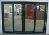 Puerta deslizante de la concha 80 UPVC