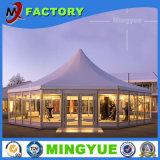 Различные типы шатер шатёр свадебного банкета романтичной звукоизоляционной пожаробезопасной водоустойчивой алюминиевой материальной выставки напольный