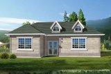 Casa simple y fácil de la estructura de acero que ensambla