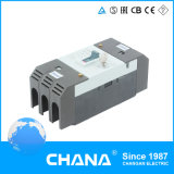disjuntor moldado Telemecanique do caso de 3/4poles 800V 400A MCCB