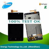 Первоначально индикация LCD для экрана Nokia Lumia 820 LCD, запасных частей для замены Nokia Lumia 820 LCD