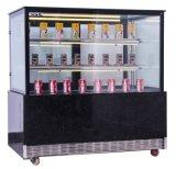 Étalage électrique de refroidisseur de coffret d'étalage de gâteau d'apex avec l'éclairage LED