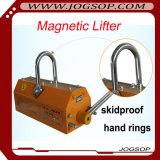 grúa de elevación del levantador 100kg del alzamiento magnético permanente de la placa de acero