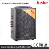 Haut-parleur à piles portatif du chariot Bas0510 avec USB/SD/FM/Bt