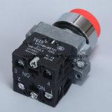 Tipo interruptor del metal de la serie 6-380V de La118kb de pulsador