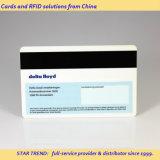 Cuatro colores de plástico de la tarjeta de banda magnética como Tarjeta de Descuento