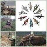 4 lâmina Muzzy Broadhead para a caça ao ar livre