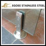 Framelessのガラス栓、支承板が付いている正方形の栓、高品質のプールの塀の栓