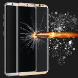 Samsung S8のための携帯電話の緩和されたガラス3Dスクリーンの保護装置