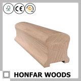 Corrimano di alta qualità della scala di legno di pino del materiale da costruzione